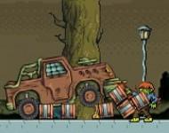 العاب سيارة ارض الزومبي المدرعة