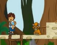 لعبة مغامرات ديجو فالحديقة