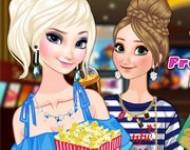 لعبة مكياج فروزين في السينما