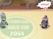 لعبة حرب الروبوتات الصغيرة
