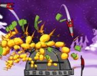 لعبة مدفع الصواريخ الليلي