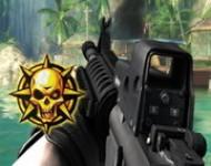 لعبة الحرب وقنص الاعداء