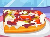 العاب طبخ خبز البيتزا الفرنسي