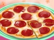 العاب طبخ بيتزا البيبروني
