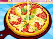 العاب طبخ بيتزا المارجريتا