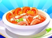 العاب طبخ شوربة الطماطم